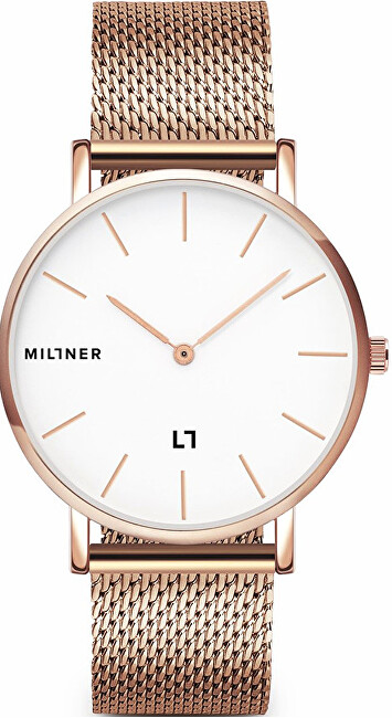 Millner Mayfair Rose Gold 39 mm
