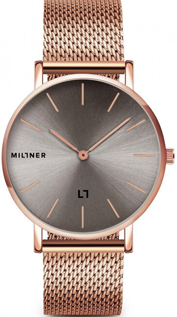 Millner Mayfair Rose Graphite 39 mm