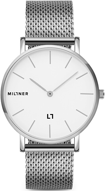 Millner Mayfair Silver 39 mm