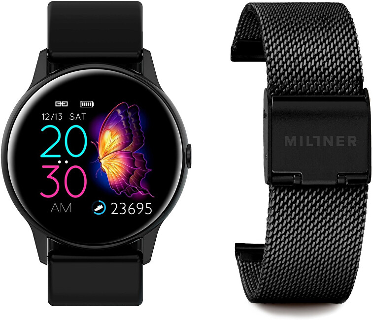 Millner Smartwatch Black