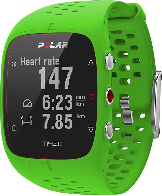 Polar M430 zelený