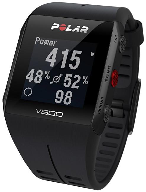 Polar V800 HR černý