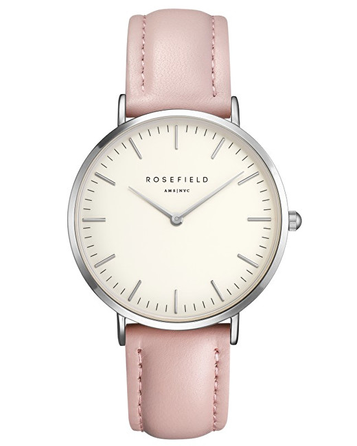 Rosefield THE BOWERY White Pink Silver