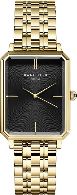 Rosefield The Elles Black Sunray Steel Gold OBSSG-O47