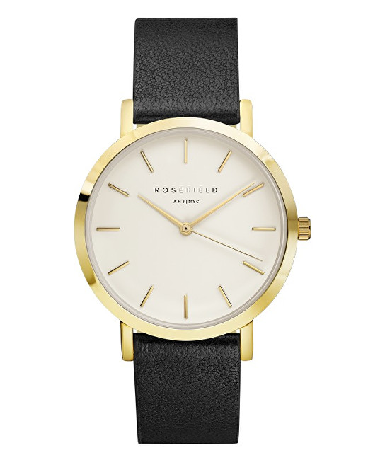 Rosefield THE GRAMERCY White black Gold