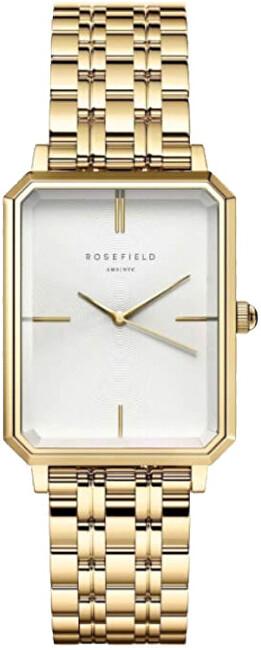 Rosefield The Octagon White Sunray Steel Gold OCWSG-O40