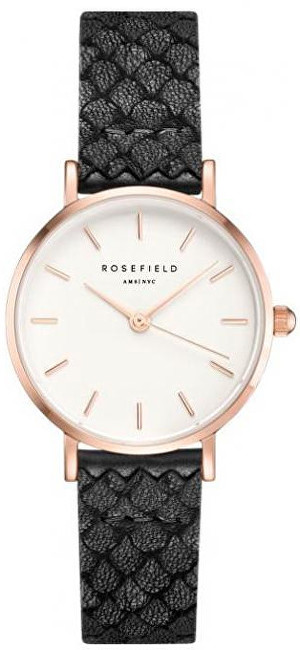 Rosefield The Small Edit White  Black Gold