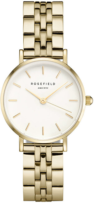 Rosefield The Small Edit White Steel Gold 26WSG267