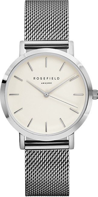 Rosefield The Tribeca White-Silver