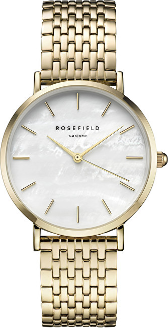 Rosefield The Upper East Side White Pearl Gold