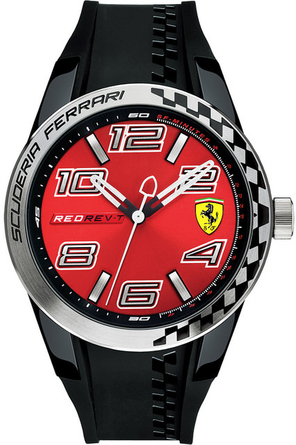 Scuderia Ferrari Red Rev-T 0830335