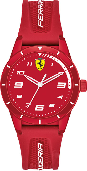 Scuderia Ferrari Red Rev Junior 0860010