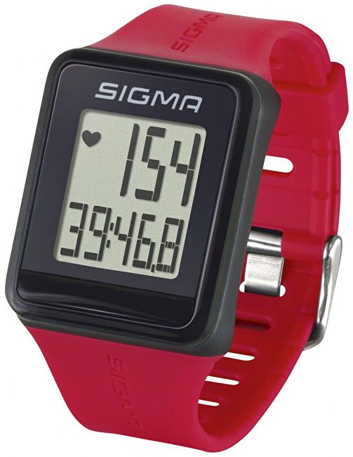Sigma Pulsmetr iD.GO červený 24530