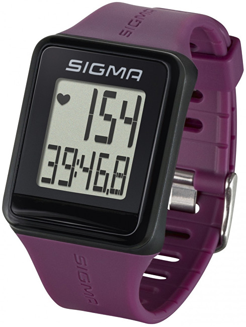 Sigma Pulsmetr iD.GO fialový 24510