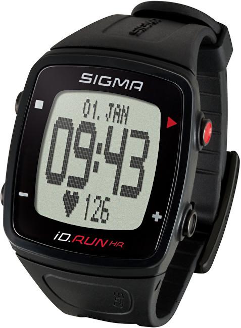Sigma Sporttester iD.RUN HR černá