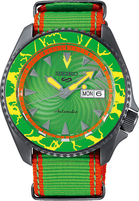 Seiko 5 Sports Automatic Street Fighter Limited Edition BLANKA  SRPF23