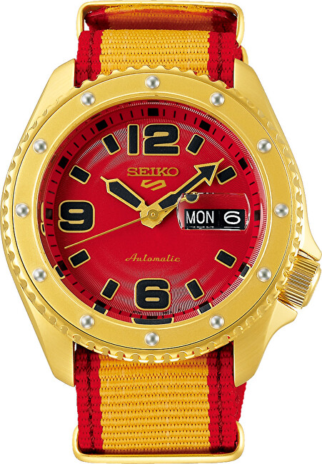 Seiko 5 Sports Automatic Street Fighter Limited Edition ZANGIEF - SRPF24K1