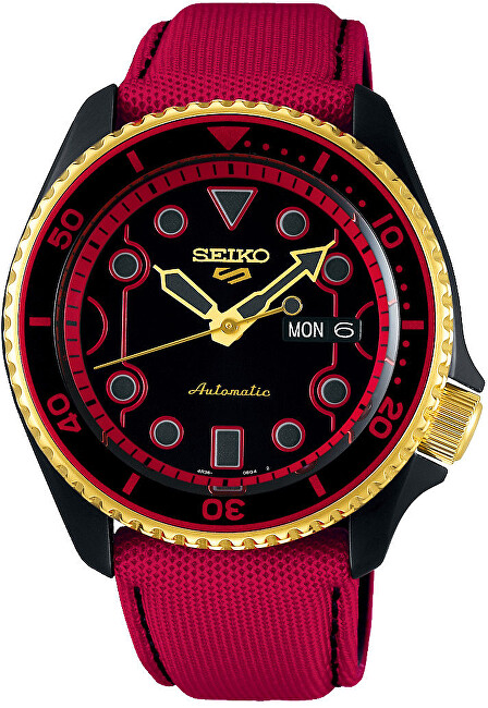 Seiko 5 Sports Automatic Street Fighter Limited Edition KEN - SRPF20K1