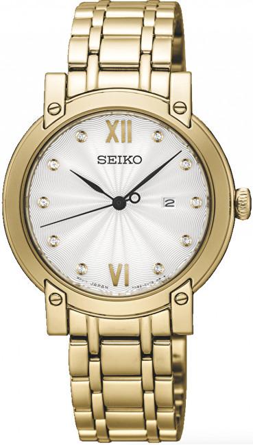 Seiko Dámské hodinky s diamanty SXDG80P1 37dc838f04