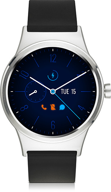 TCL MOVETIME Smartwatch Silver Black MT10G-2ALCE11 - SLEVA