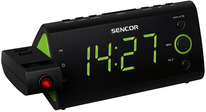 Sencor Radiobudík s projekcí SRC 330 GN