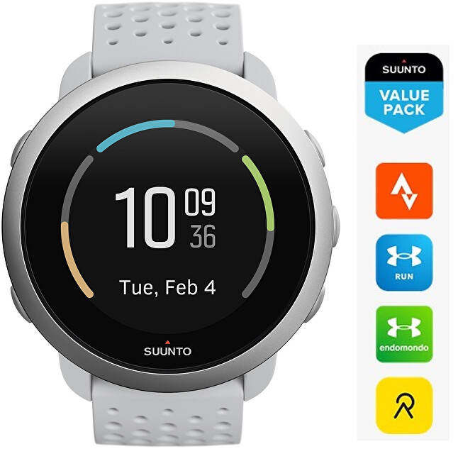 Suunto Suunto 3 Pebble White SS050416000