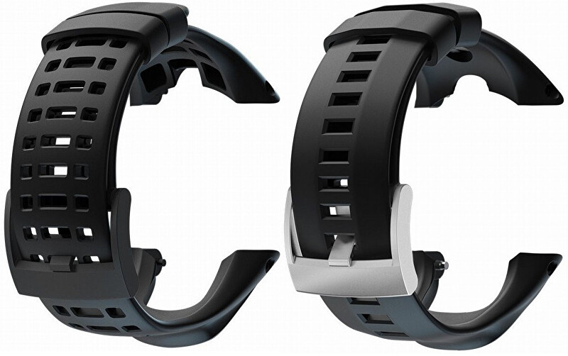 Suunto Řemínek k hodinkám Ambit/Ambit 2/Ambit3 Peak černý s černou sponou