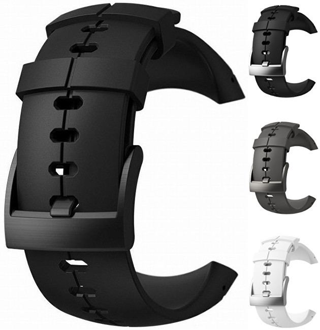 Suunto Řemínek k hodinkám Spartan Ultra černý s černou titanovou sponou