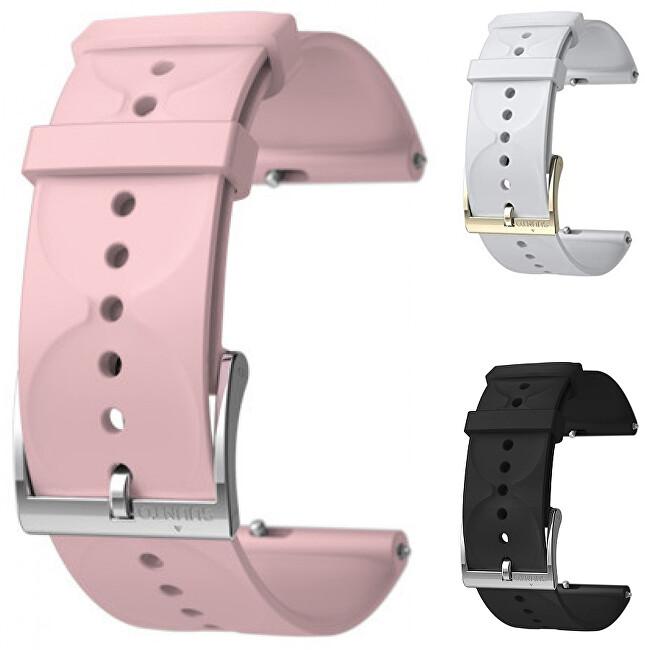 Suunto Silikonový řemínek k hodinkám Suunto 3 a Suunto 3 Fitness růžový