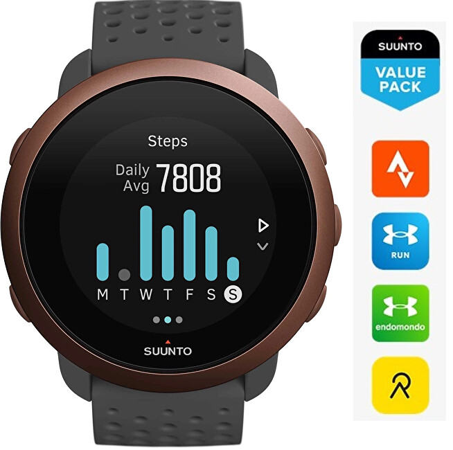 Suunto Suunto 3 Slate Grey Copper SS050415000