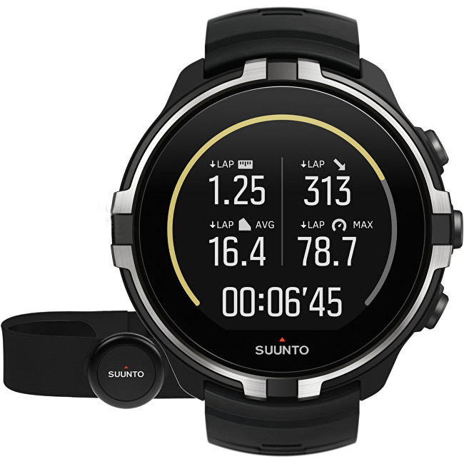 Suunto Suunto Spartan Sport Wrist HR Baro Stealth with Belt