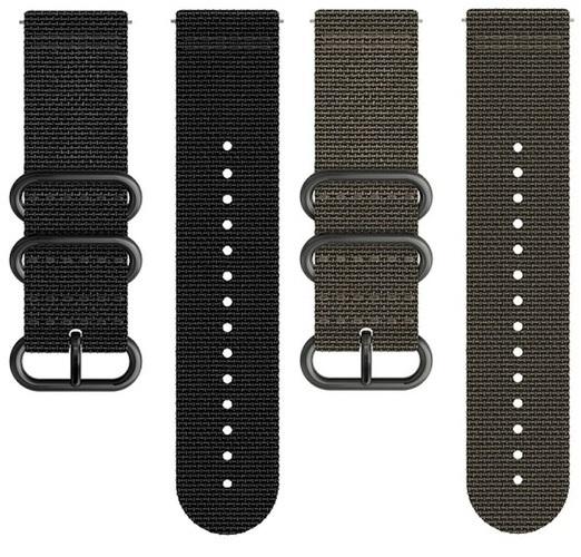 Suunto Textilní řemínek k hodinkám Traverse Alpha černý