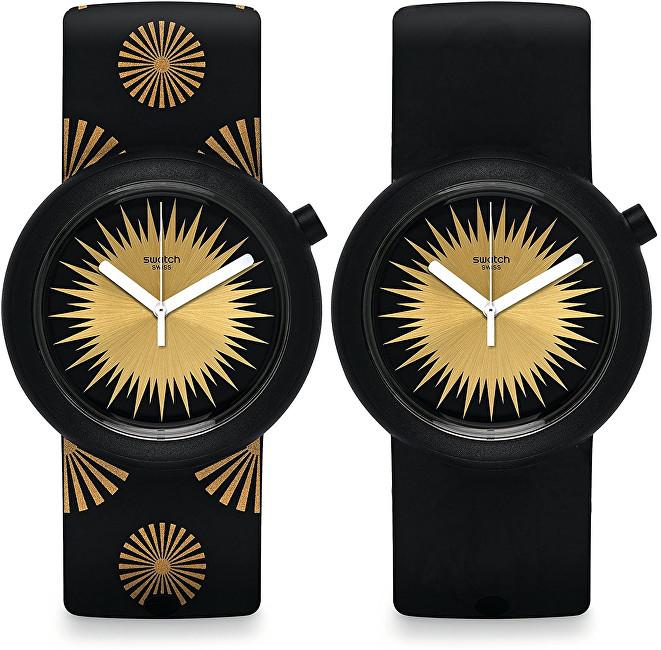 Swatch Oboustranné hodinky Festipop PNB103