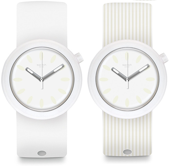 Swatch Oboustranné hodinky Popure PNW105