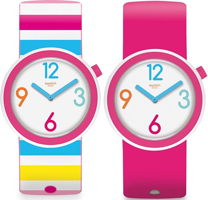 Swatch Oboustranné hodinky Riminipop PNW106