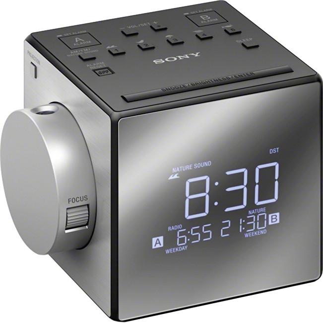 Sony ICF-C1PJ radiobudík s projekcí času