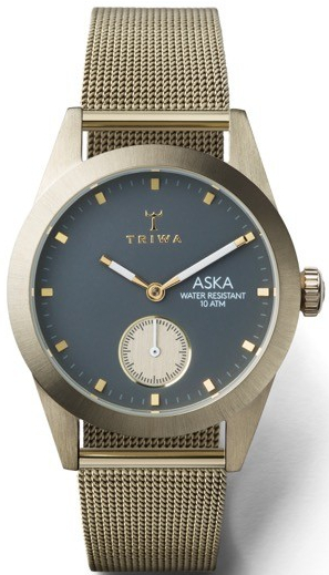 Triwa ASKA Champagne Mesh TW-AKST103-MS121717