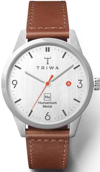 Triwa Humanium Brown Sewn Classic Hu39L-SC010212