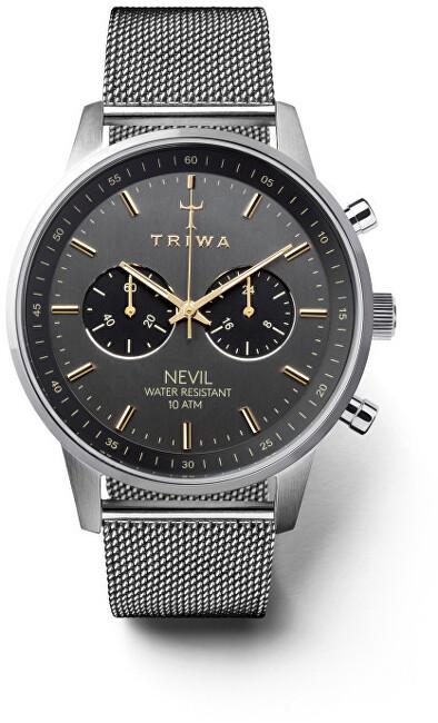 Triwa NEVIL Smoky Steel Mesh TW-NEST114-ME021212