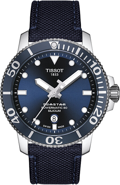 Tissot Seastar 1000 Automatic Powermatic 80 Silicium T1204071704101
