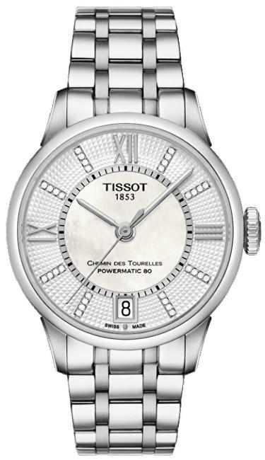 Tissot T-Classic Chemin des Tourelles Powermatic 80 T099.207.11.116.00 s diamanty