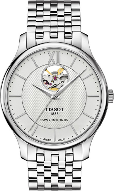 Tissot TRADITION Powermatic 80 OPEN HEART T0639071103800