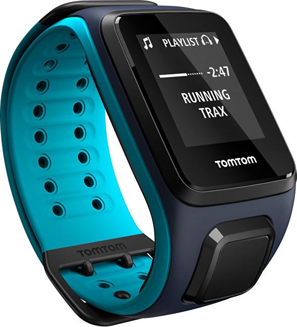 TomTom TomTom Runner 2 Cardio + Music Sky Captail Blue (L)