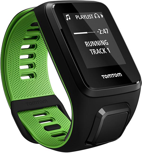 TomTom TomTom Runner 3 Cardio+Music BLK/GRN (S)