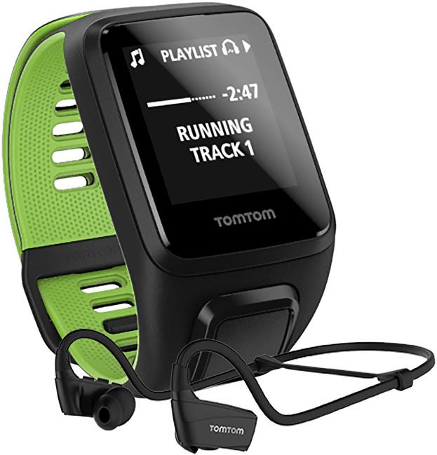 TomTom TomTom Runner 3 Cardio+Music+HP BLK/GRN (L)