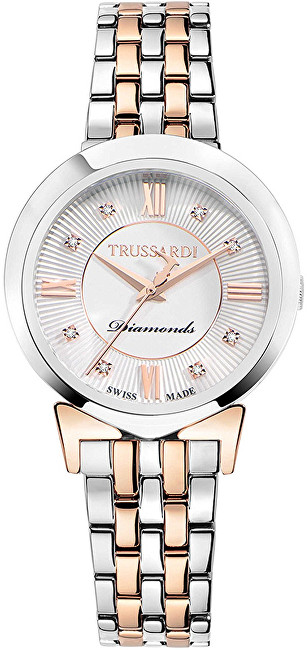 Trussardi Swiss Made s diamanty Antilia R2453105506