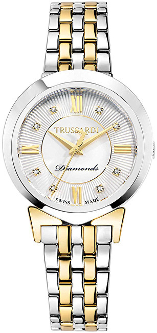 Trussardi Swiss Made s diamanty Antilia R2453105507