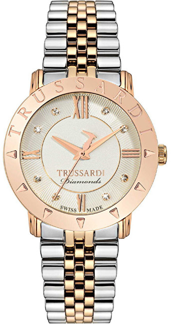Trussardi Swiss Made Sinfonia s diamanty R2453108507