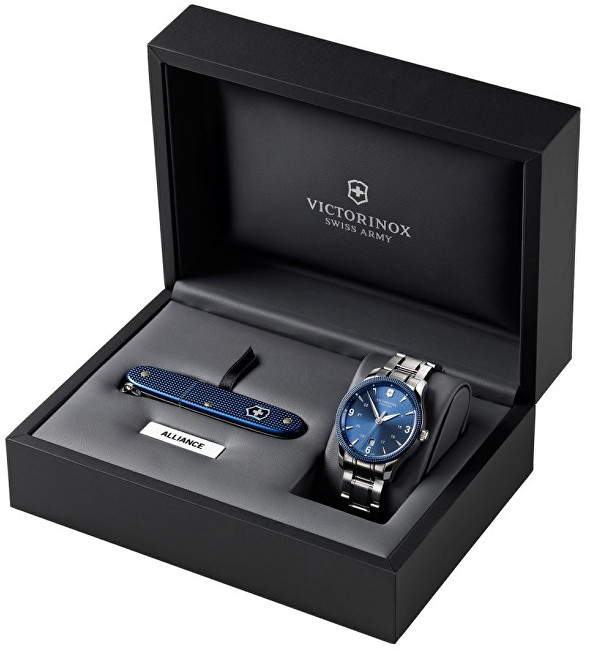 Victorinox Swiss Army Sada hodinek a nože Alliance 241711.1