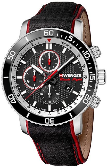 Wenger Roadster Black Night Chrono 01.1843.105